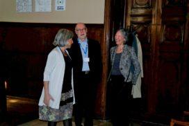 La Preside Lupone con Winfried Schulz e signora